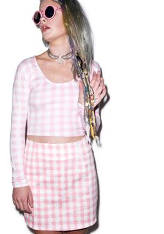 Motel Check Me Out Annie A-Line Skirt | Dolls Kill