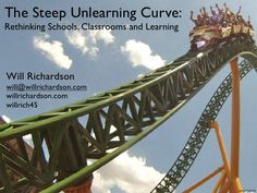Steep unlearning curve by willrich45, via Slideshare