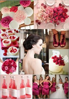 raspberry wedding