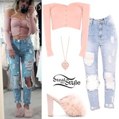 Gabriella DeMartino Clothes & Outfits | Steal Her Style Teen Fashion Outfits, Girly Outfits, Outfits For Teens, Chic Outfits, Formal Outfits, Fashion Fashion, Steal Her Style, Jugend Mode Outfits, Valentines Outfits