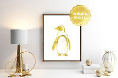 Ehi, ho trovato questa fantastica inserzione di Etsy su https://www.etsy.com/it/listing/237836192/pinguino-lamina-doro-penguin-stampa