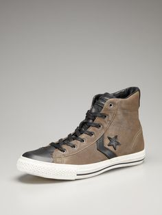 67a590b3f47dc Converse Leather High Top Sneakers Converse Leather High Tops