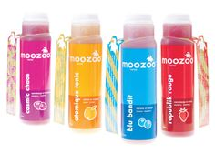 moozoo!  Colorful branding. Love the hangtab.