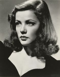 Portrait of Gene Tierney for Laura directed by Otto Preminger, 1944