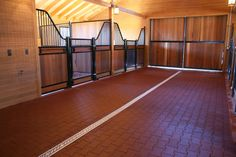 Santa Rosa barn by Innovative Equine Systems - love those beautiful horse stalls