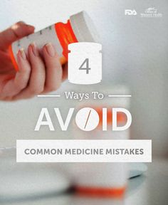 Ask questions. Avoid common medicine mistakes. #RxProblem go.usa.gov/3D9eR