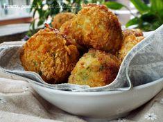 Polpette croccanti di tacchino, patate e piselli...al forno
