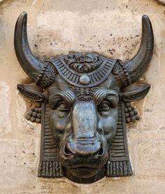 Bull's head Edme Gaulle ca. 1819