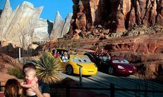 Test Driving Disney's New Cars Land