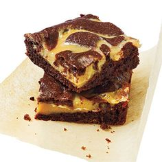 These fudgy brownies have a thick, rich swirl of dulce de leche and a kick from ground red pepper. If you prefer a milder version, omit...