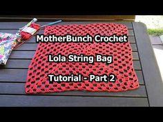 Lola String Bag – MotherBunch Crochet