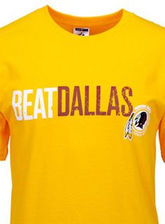 My 2 favorite teams: The Washington Redskins & whoever is playing Dallas #RedskinsTee #HTTR