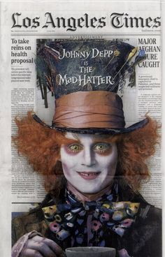 Alice in Wonderland Ad :: L.A. Times