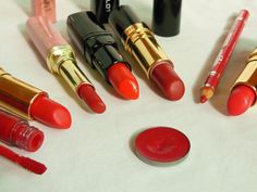 Makeup Muddle - Red Lipstick Shades