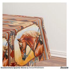 Southwestern Quarter Horse Tablecloth