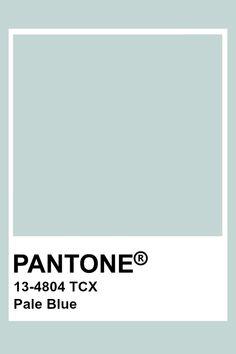 Pantone Pale Blue