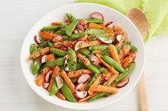 Embrace the warmer weather with our Glazed Veggies recipe. These glazed spring vegetables add just enough crunch and freshness for a brunch or dinner side.