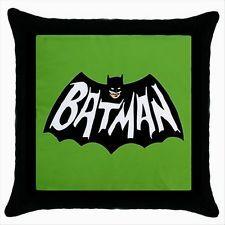 NEW HOT BATMAN CARTOON Black Cushion Cover Throw Pillow Case Gift Throw Pillow Cases, Throw Pillows, Black Cushion Covers, Batman Cartoon, Superhero Logos, Baby Items, Cushions, Grand Kids, Ebay