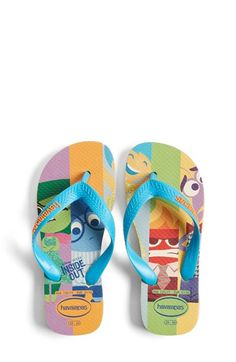 7065043404c8e Havianas  Disney® - Inside Out  Flip Flops (Toddler  amp  Little Kid