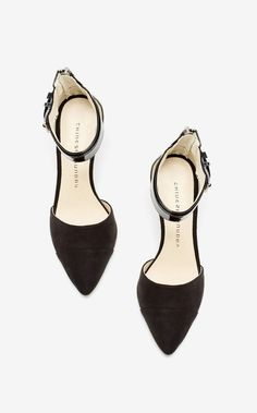 Chinese Laundry Solitaire d'Orsay Ankle Strap Pump