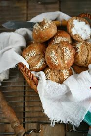 Angie's Recipes . Taste Of Home: Whole Spelt Quark Rolls