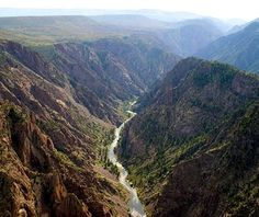 Black Canyon of the Gunnison National Park, CO - America's Most Underrated National Parks | Travel + Leisure