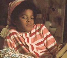 Aaawww..look at little Michael