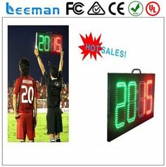 2018 2017 Leeman soccer substitution board --- LEAP led electric scoreboard for badminton,table tennis and volleyball games Badminton, Football Scoreboard, Led, Tennis Scores, Volleyball Games, Display Advertising, Portable Table, Matcha, Boards