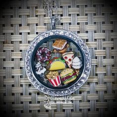 This locket looks yummy enough to eat!  Create your yummy locket at  http://rosag.origamiowl.com See more locket looks at http://facebook.com/rosago2