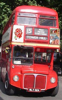 love the double decker bus