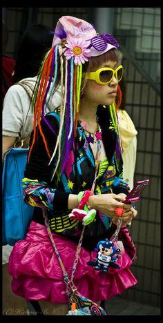 Harajuku _ la mode de la rue au japon - street fashion Japan