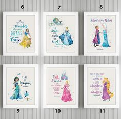 Enchanted Quotes and Characteres Disney Princess Nursery, Disney Princess Toddler, Princess Bedrooms, Disney Bedrooms, Disney Nursery, Princess Theme, Girl Nursery, Girls Bedroom, Nursery Ideas
