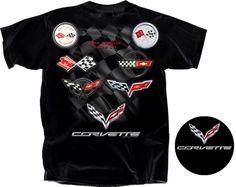 Shop Lingenfelter - Corvette Legend Tee - Available in Black & White.  (260) 724-2552 #Corvette #Stingray #Lingenfelter