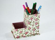 Porta Clips, Cardboard Organizer, Pot A Crayon, Desk Set, Pots, Diy Box, Diy Home Crafts, Recycled Crafts, Desk Organization