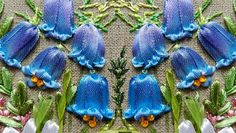 Wonderful Ribbon Embroidery Flowers by Hand Ideas. Enchanting Ribbon Embroidery Flowers by Hand Ideas. Embroidery Designs, Ribbon Embroidery Tutorial, Silk Ribbon Embroidery, Crewel Embroidery, Learn Embroidery, Cross Stitch Embroidery, Embroidery Patterns, Embroidery Thread, Machine Embroidery