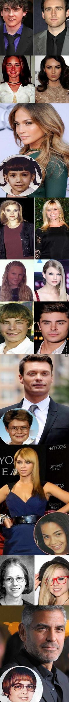 Pictures of Celebrities then and now 2014 - http://www.jokideo.com/
