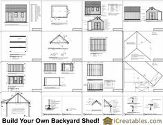 12x16 Cape Cod Style Shed With Porch Plans