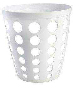 Helit Abfallbehälter Papierkorb H2401405  50l  Push-Deckel  weiss