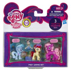 Amazon.com: My Little Pony, Pony Lesson Set (Silver Spoon, Twist-a-loo, and Cheerilee), 3-Pack: Toys & Games