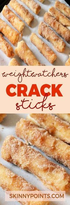 Crack Sticks - Weight watchers smart Points Friendly