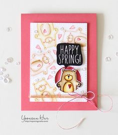 Hello crafty friends! Wow! just wow! I'm SO honoured to be joining Simon Says Stamp Hop To It Release Blog Hop. Full of amazing stamps and dies are perfect for making Spring themed and Easter proje...