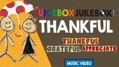 Thankful by The Juicebox Jukebox   2021 Gratitude Appreciation Kids Songs Music Thanksgiving