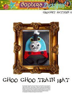 Thomas hat pattern on Etsy.