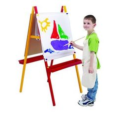 Jasart Childrens Easel Early Learning, Fun Learning, Homeschool Supplies, School Essentials, Finger Painting, Christmas Gift Guide, Pre School, Easel, Little Ones