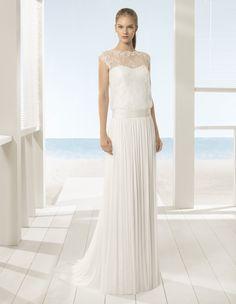 Robe Ucrania #collection 2018 #beach #airebarcelona ! #robesdemariee #robes #wedding #weddingdress #dress #bridal #mariée #mariage