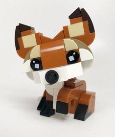 LEGO LOT OF 70 NEW DARK BROWN SLOPED PILLAR PIECES 2 X 2 BOTTOM 1X2 TOP STUD