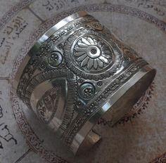 silver arm cuff jewelry | Jewelry :: HUGE Vintage berber Bedouin silver upper arm bracelet Cuff ...