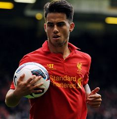 Jose Enrique has backed fellow Spaniard Suso to make a big impression at Liverpool. The forward made his senior debut for the Reds in the Europa League victory over Young Boys in Switzerland. Liverpool Premier League, Liverpool One, Liverpool Players, Liverpool Football Club, Uefa Super Cup, This Is Anfield, Fa Cup, Ac Milan, One Team