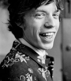 Mick Jagger photographed by Robert Whitaker, 1966.