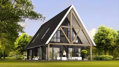 Cabin Design, House Design, Build Your Own House, Own Home, Gazebo, Outdoor Structures, Architecture, House Styles, Building